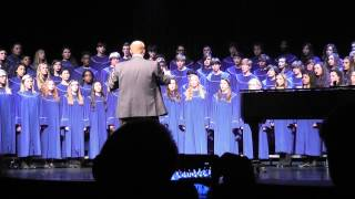 """Poor Little Jesus"" sung by the MCHS SATB Choir 5/2/13"