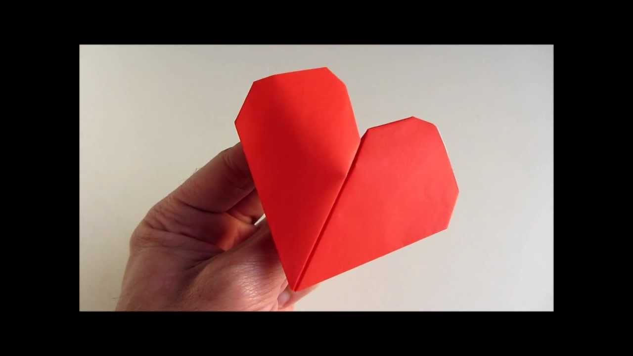 Origami Beating Heart In Action Youtube