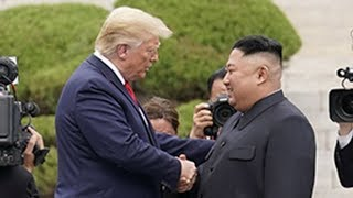 Trump makes history becoming first sitting US President to enter North Korea