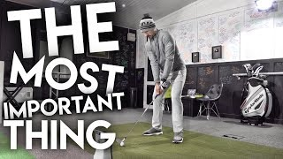The Most Important Thing I Learned About Golf This Year