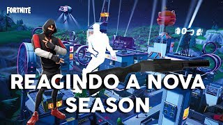 REACTING TO THE PASS AND NEW TWELVE OF THE SEASON 9-FORTNITE