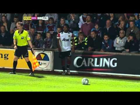 Scunthorpe 2-5 Man Utd  Carling Cup hilight 22-09-10
