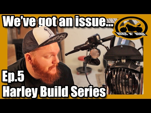 """Harley Iron 883 Sportster """"Build"""" Series - Ep.5 Fork and Fairing Modifications"""