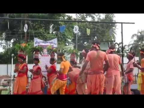 NADIA Dist. Tourism, Krishnagar HUT, JHUMUR DANCE, ON RAKSHA BANDHAN Dy 2015