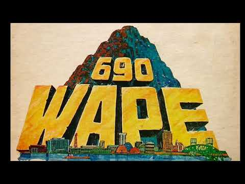 WAPE 690 Jacksonville - The Greaseman - 1980