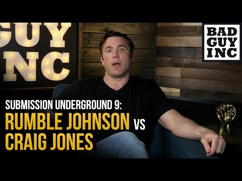 Can Anthony Rumble Johnson defend Craig Jones' leg attacks?