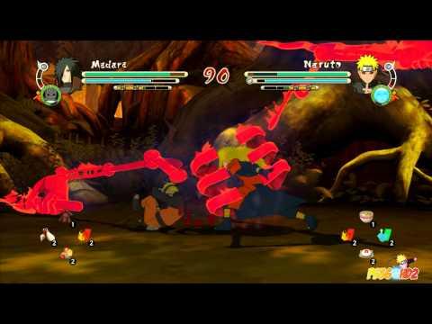 Naruto Storm 3: Full Burst - Mods - SSJ3 Madara vs Evil Naruto |