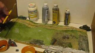 How to Make a WW2 Diorama Part 3: Base Painting