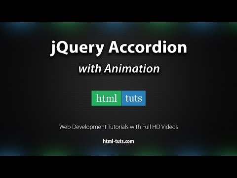 jQuery Accordion with Animations | HTML-TUTS com