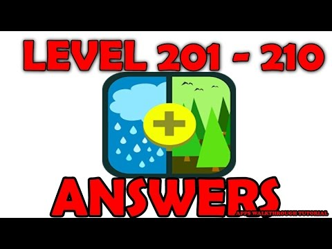 Pic Combo Level 201 - 210 - All Answers - Walkthrough ( By LOTUM media GmbH )