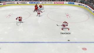 Nhl 09 pc Be a Pro Gameplay