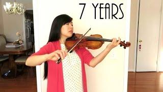 7 Years Lukas Graham Violin Cover