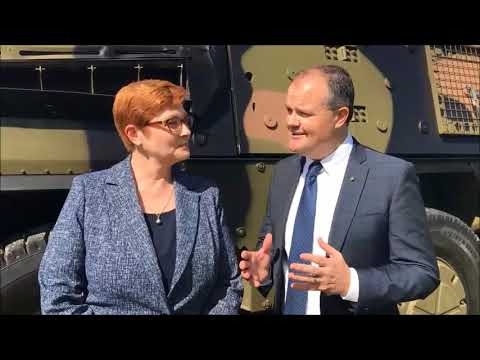 Land 400 announcement - Minister Marise Payne MP and Ted O'Brien MP