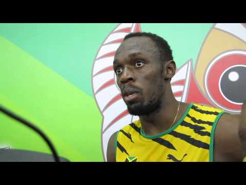 Beijing 2015: Usain Bolt confronts journalist on 'Gatlin made a mistake comment'