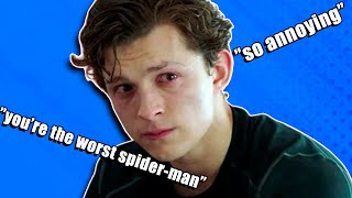 tom holland being bullied by everyone in the marvel cast for 15 minutes straight