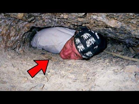 Самые страшные видео, сделанные в пещерах и шахтах