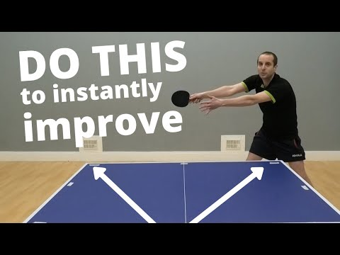 How To INSTANTLY Improve At Table Tennis