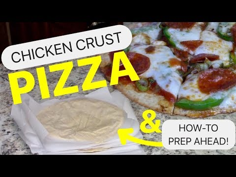 Chicken Crust Pizza | KETO MEAL PREP