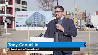 Groundbreaking held for Heartland