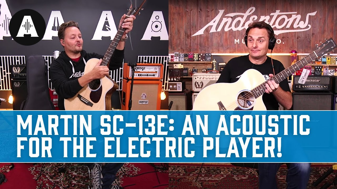 The Perfect Acoustic For Electric Guitar Players! - New Martin SC-13E Electro-Acoustic