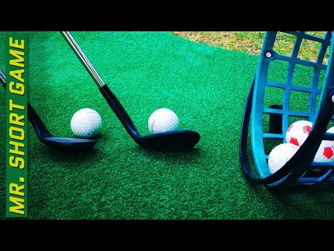 Golf Chipping Drill to Develop Feel around the Greens!
