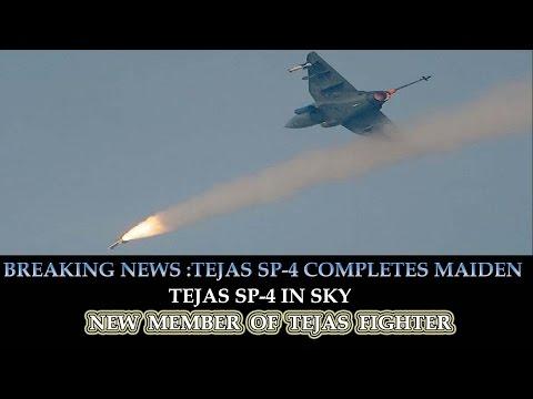 BREAKING NEWS: TEJAS SP-4 COMPLETES MAIDEN FLIGHT