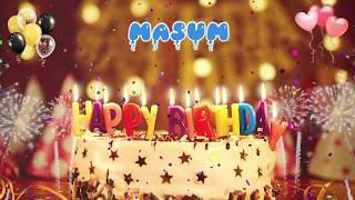 MASUM Happy Birthday Song – Happy Birthday Masum – Happy birthday to you