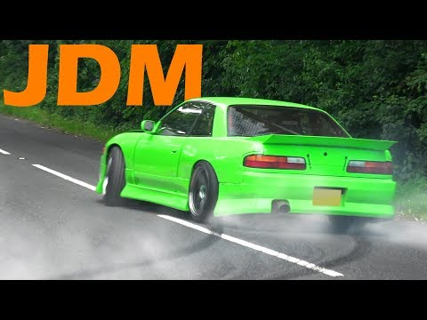 🔰 JDM Cars Leaving a Car show – June 2017