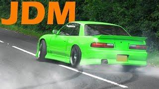 🔰 JDM Cars Leaving a Car show - June 2017