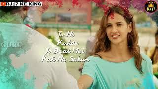 Paniyon sa song | WhatsApp Status | Satyameva Jayate | Lyrics Video | RJ 17 KE KING 2.O