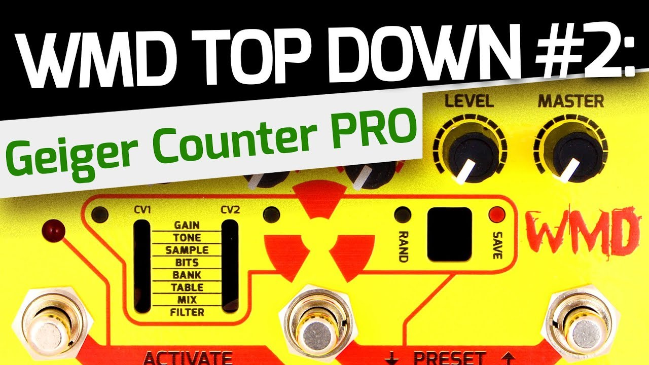 WMD Geiger Counter PRO - Top Down #2 - Dynamic Tremfolding