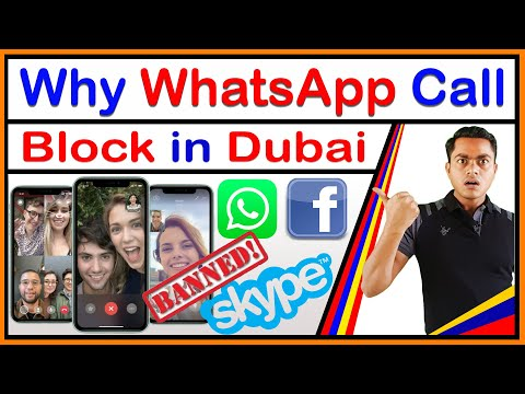 Why calling from WhatsApp, Facebook, IMO Banned in Dubai, Social media app, calling Blocked in UAE