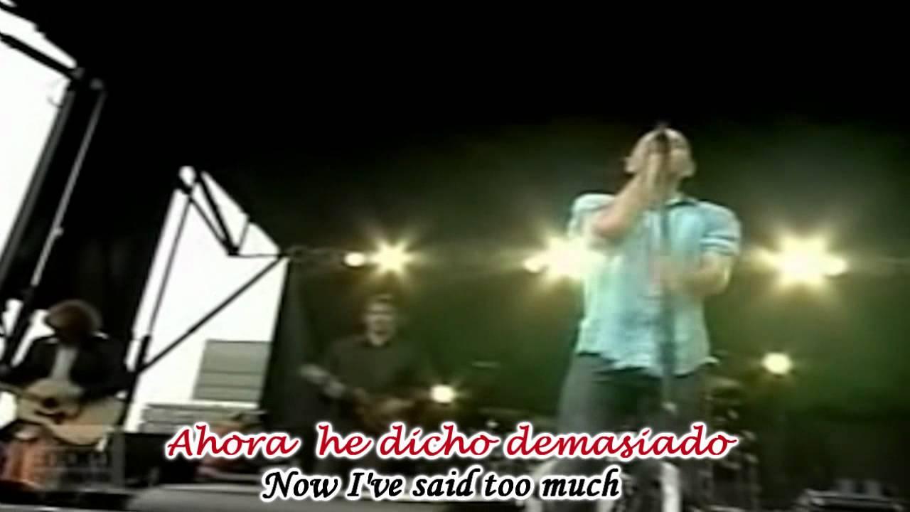 R E M Losing My Religion Subtitulado Español Ingles Hd Youtube