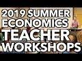 2019 Summer Teacher Workshops with Clifford