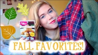 Favorite Fall Things TAG 2014 // Makeupkatie95 Thumbnail
