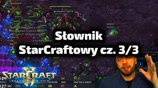Słownik / Terminologia w świecie StarCrafta cz. 3/3 - dla nowych