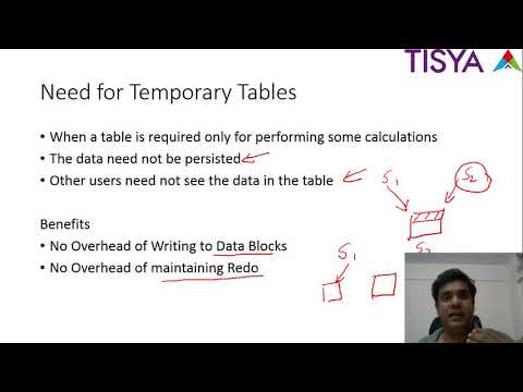 GLOBAL TEMPORARY TABLE (GTT) IN ORACLE SQL WITH EXAMPLES