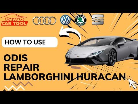 How To Use ODIS Software For Repair Lamborghini Huracan Car ?