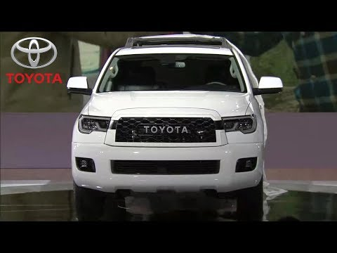 2020 Toyota Sequoia TRD Pro reveal at the Chicago Auto Show