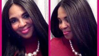 BRAND NEW!!  ZURY SIS SW-H WEN Lace Front Wig in color 1B