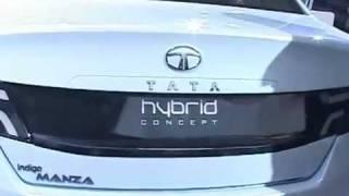 tata manza hybrid concept at 11th auto expo 2012 in delhi first look