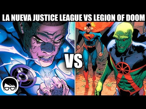 LA NUEVA JUSTICE LEAGUE VS EL LINTERNA VIOLETA (2018) | Justice League #3 | COMIC NARRADO