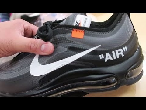 EARLY REVIEW! OFF WHITE NIKE AIR MAX 97 SHOE RELEASE DETAILED LOOK