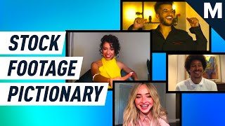 The 'Work It' Cast Plays Stock Footage Pictionary | Mashable