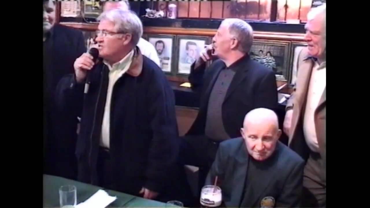 Jimmy Johnstone Bairds Bar Tribute Night For Jimmy Johnstone