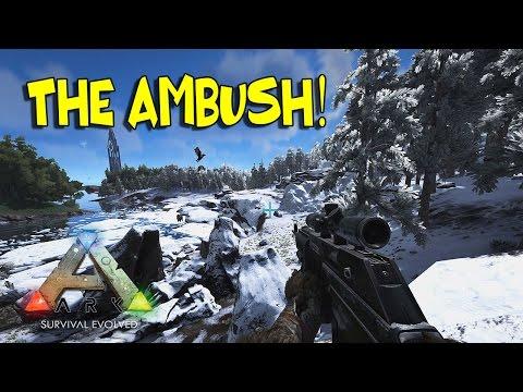 """SNOW CAVE AMBUSH!!"" - TRIBE STRUGGLE #13 | ARK: Survival Evolved (HOD's SERVER)"