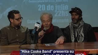 18 07 19  HELLRIEGEL MIKE COOK GRAMAJO  Mike Cooke Band presenta su primer disco en la Casa del Bice