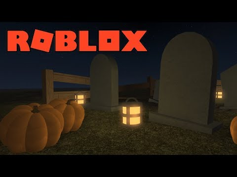 ROBLOX Building - Old Graveyard - YouTube