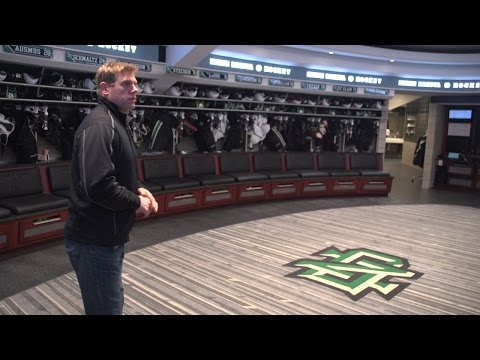 University Of North Dakota: Tour The Ralph Engelstad Arena Locker Room (2014-15)