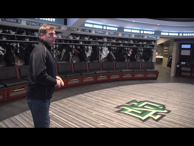 University of North Dakota: Tour of Lower-Level Renovations to Ralph Engelstad Arena (2014-15)